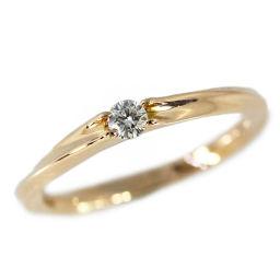 スタージュエリー 1P・ダイヤモンド・ウェーブリング・指輪/K18PG/750-1.8g/7号/#47/ピンクゴールド/STAR JEWELRY 翌日配送可/h190309■280255