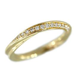 スタージュエリー フォーエバーループ 19P・ダイヤモンドリング・指輪/K18YG/750-3.4g/0.16ct/11号/#51/STAR JEWELRY 翌日配送可/h190321■281575