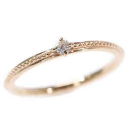 Agat 1P, Diamond (fashion) Pinky Ring, Ring / K10YG / 416-0.8g / 0.03ct / 3 Issue / # 43 / agete The next day delivery possible / h190711 ■ 295890