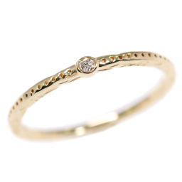Agat 1P, Diamond Ring, Ring, Natural / K10YG / 416-0.7g / 0.01ct / 5 No./#45/10162111080-08-005/agete Next day delivery available / h 190 720 ■ 296711