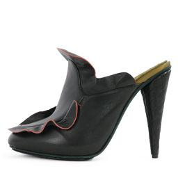 超フェンディ サンダル靴/8R6308/39/ブラック×グリーン×レッド/FENDI 翌日配送可■214917