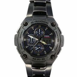 カシオ G-SHOCK・クロノグラフ ソーラー電波腕時計-110.0g/MRG-7100BJ/ブラック(マット)/CASIO 翌日配送可■214558