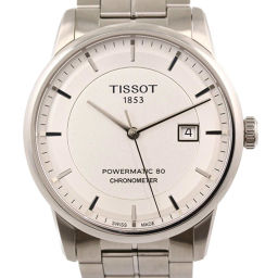 Super beautiful goods Tissot Luxury Automatic CHRONOMETER Automatic winding back Skelton clock Powermatic / SS / 134.8g / T086408 / Tissot next day delivery available / h191212 ■ 321790
