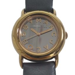 Marc Jacobs Quartz Mirror Face Watch / SS / stainless steal-40.0g / MBM1184 / Gold x Gray / MARC JACOBS Next day delivery possible / h200109 ■ 323347