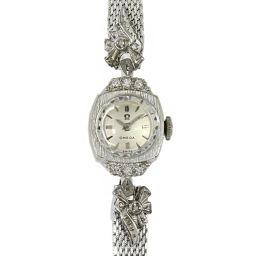 オメガ 手巻き アンティーク腕時計/A7489.85369/シルバー/OMEGA 翌日配送可■206781