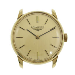 Longines hand-wound watch case only / SS / stainless steal-12.6g / 1115.805 / gold color / LONGINES next day delivery available / h200109 ■ 324157