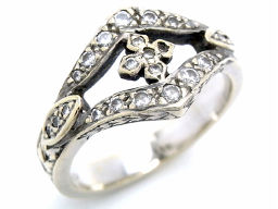 Loree Rodkin ローリーロドキン K18ホワイトゴールド×ダイヤモンド ホワイトゴールド ホワイト レディース リング・指輪【中古】