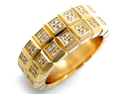 Chopard ショパール 82/3791  750イエローゴールド×ダイヤモンド イエロー 黄色 レディース リング・指輪【中古】Aランク
