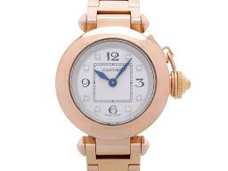 CARTIER カルティエ WJ124016  750ピンクゴールド×金無垢×ダイヤモンド ピンク シルバー レディース 腕時計【中古】Aランク