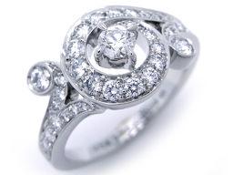 Van Cleef & Arpels ヴァンクリーフ&アーペル 750ホワイトゴールド×ダイヤモンド シルバー レディース リング・指輪【中古】Aランク