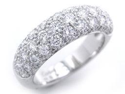 CARTIER カルティエ 750ホワイトゴールド×ダイヤモンド シルバー レディース リング・指輪【中古】Aランク