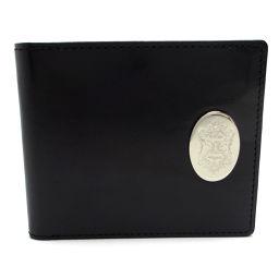 Orobianco オロビアンコ メタッロ  牛革 メンズ 二つ折り財布 DH40416【中古】SAランク