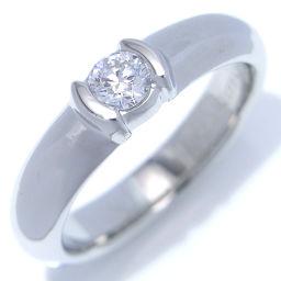 TIFFANY&Co. ティファニー Pt950プラチナ×ダイヤモンド 9号 レディース リング・指輪【中古】Aランク