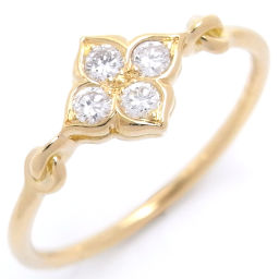 CARTIER カルティエ ヒンドゥ ダイヤモンド 750イエローゴールド×ダイヤモンド 10号 レディース リング・指輪 DH46075【中古】Aランク