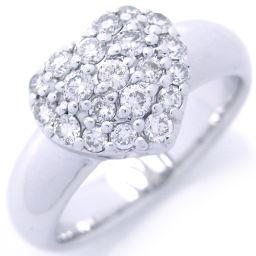 Ponte Vecchio ポンテヴェキオ 750ホワイトゴールド×ダイヤモンド 10号 レディース リング・指輪 DH46143【中古】Aランク