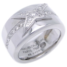 MAUBOUSSIN Mauboussin Me nuance a toa diamond 750 white gold x diamond No. 10.5 ladies ring ring DH47382 [pre-owned] AB rank