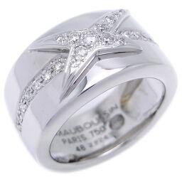 MAUBOUSSIN モーブッサン メ ニュアンス ア トア ダイヤモンド 750ホワイトゴールド×ダイヤモンド 10.5号 レディース リング・指輪 DH47382【中古】ABランク