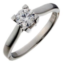 HARRY WINSTON ハリーウィンストン Pt950プラチナ×ダイヤモンド 9.5号 レディース リング・指輪【中古】Aランク