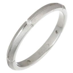 TIFFANY&Co. ティファニー 750ホワイトゴールド×ダイヤモンド 14.5号 レディース リング・指輪【中古】Aランク