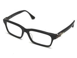 CHROME HEARTS クロムハーツ RUMPLEFORESKIN-A プラスチック×SV925 メンズ メガネ【中古】ABランク