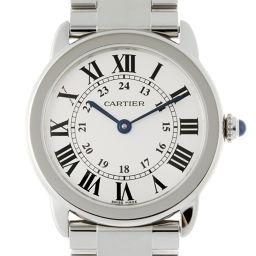 CARTIER カルティエ W6701004 ステンレススチール シルバー 文字盤 レディース 腕時計【中古】ABランク