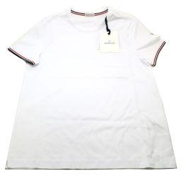 MONCLER モンクレール 80019800 コットン ホワイト メンズ 半袖Tシャツ【中古】Sランク