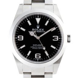 ROLEX ロレックス 214270 ステンレススチール ブラック 文字盤 メンズ 腕時計【中古】Aランク