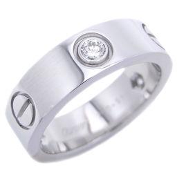 CARTIER カルティエ 750ホワイトゴールド×ダイヤモンド 11号 リング・指輪【中古】ABランク