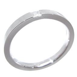 HARRY WINSTON ハリーウィンストン プリンセス ダイヤモンド マリッジ Pt950プラチナ×ダイヤモンド 18.5号 リング・指輪 DH48665【中古】Aランク