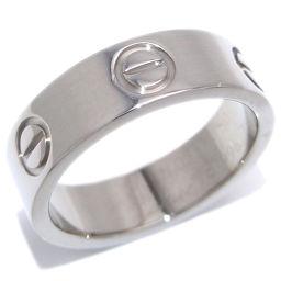 CARTIER カルティエ ラブ 750ホワイトゴールド 10号 リング・指輪 DH48696【中古】Aランク