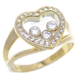 Chopard ショパール ハッピー ダイヤモンド 750イエローゴールド×ダイヤモンド 9号 レディース リング・指輪 DH48697【中古】ABランク