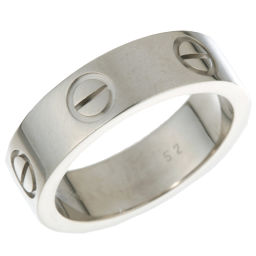 CARTIER カルティエ ラブ 750ホワイトゴールド 12号 リング・指輪 DH48743【中古】Aランク