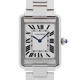 CARTIER カルティエ W5200013 タンクソロ SM ステンレススチール レディース 腕時計 DH48768【中古】Aランク