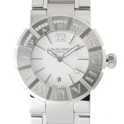 Chaumet ショーメ W17624-35A クラスワン ダイヤモンド (ミディアム) ステンレススチール×ダイヤモンド ボーイズ 腕時計 DH48781【中古】ABランク