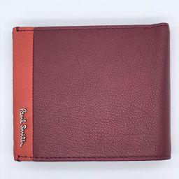Paul Smith ポール・スミス 小物 レザー メンズ 二つ折り財布 DH48851【中古】Sランク