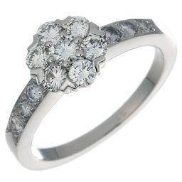Van Cleef & Arpels ヴァンクリーフ&アーペル フルーレット スモール ダイヤモンド 750ホワイトゴールド×ダイヤモンド 11号 レディース リング・指輪 DH48982【中古】Aランク