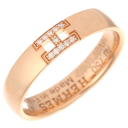 HERMES エルメス ヘラクレス ダイヤモンド 750ピンクゴールド×ダイヤモンド 7号 リング・指輪 DH48990【中古】Aランク