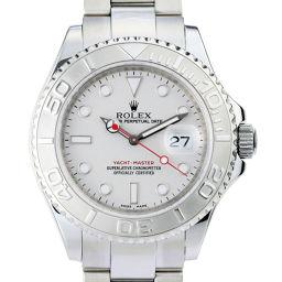 ROLEX ロレックス 16622 ヨットマスター M番 2008年製 ステンレススチール×プラチナ Pt メンズ 腕時計 DH48996【中古】ABランク