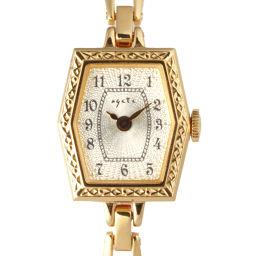 agete アガット GP×ステンレススチール レディース 腕時計 DH49213【中古】ABランク