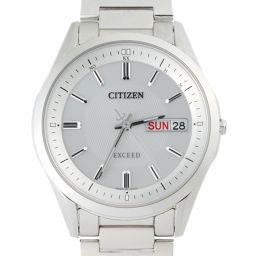 CITIZEN シチズン AT6030 (H100-T021212) エクシード エコドライブ 電波 チタン メンズ 腕時計 DH49227【中古】ABランク