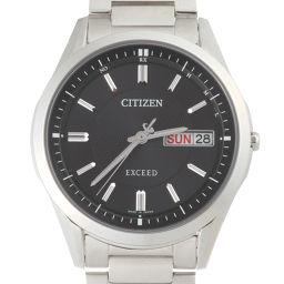 CITIZEN シチズン H100-T021212 エクシード エコドライブ 電波 チタン メンズ 腕時計 DH49228【中古】Aランク