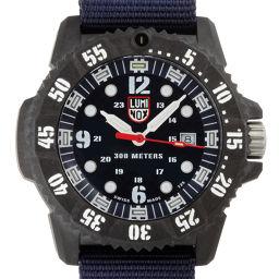 LUMINOX ルミノックス 3803 38000シリーズ ステンレススチール×ナイロン×ウルトラライトカーボン メンズ 腕時計 DH49332【中古】ABランク