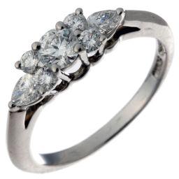 TIFFANY&Co. ティファニー セブンストーン ダイヤモンド Pt950プラチナ×ダイヤモンド 10号 レディース リング・指輪 DH49341【中古】Aランク