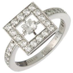 Boucheron ブシュロン アバ ダイヤモンド 750ホワイトゴールド×ダイヤモンド 11号 リング・指輪 DH49355【中古】Aランク
