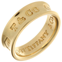 TIFFANY&Co. ティファニー 1837 ナロー 750イエローゴールド 10号 リング・指輪 DH49639【中古】Aランク