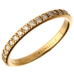 TIFFANY&Co. ティファニー ノヴォ フル エタニティ ダイヤモンド 750イエローゴールド×ダイヤモンド 9号 レディース リング・指輪 DH49641【中古】Aランク