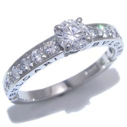 BVLGARI ブルガリ デディカータ ダイヤモンド Pt950プラチナ×ダイヤモンド 13.5号 レディース リング・指輪 DH49945【中古】Aランク