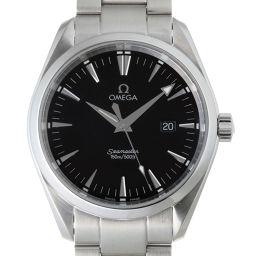 OMEGA オメガ 25175000 シーマスター アクアテラ ステンレススチール メンズ 腕時計 DH49994【中古】ABランク