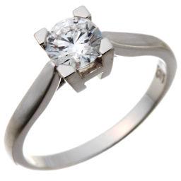 HARRY WINSTON ハリーウィンストン HW 0.54ct ダイヤモンド Pt950プラチナ×ダイヤモンド 8号 レディース リング・指輪 DH50226【中古】Aランク
