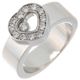 Chopard ショパール 82/2936 ハッピー ダイヤモンド 750ホワイトゴールド×ダイヤモンド 10号 レディース リング・指輪 DH50382【中古】ABランク